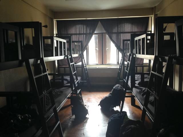 ボーン・フリー・ホステルのドミトリー部屋