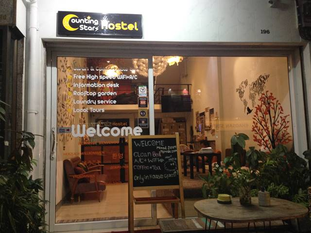 Counting stars Hostel