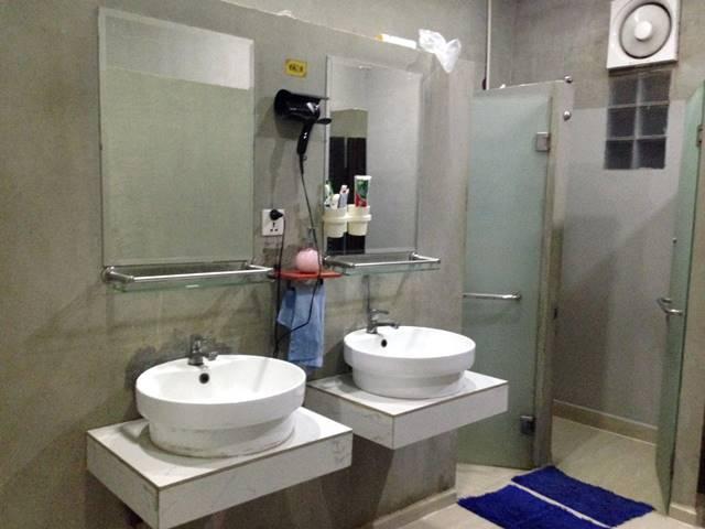 ワンストップ・ホステルのバスルーム