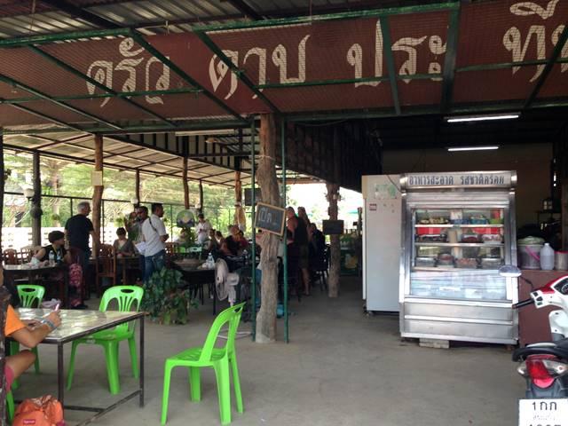 タイ国境手前のレストラン