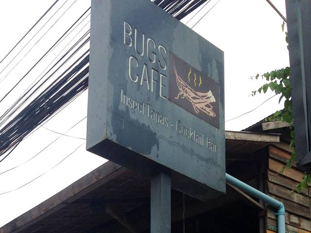 虫料理レストラン「バグス・カフェ」