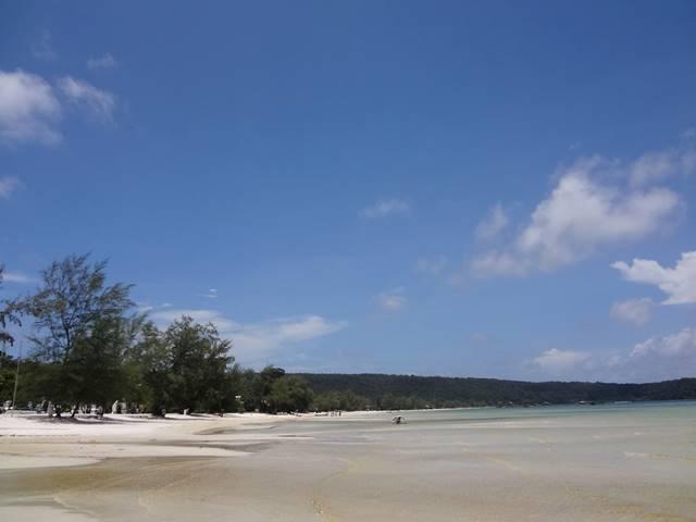 ロン・サレム島のビーチ