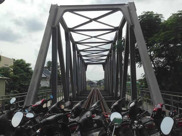 ポイペトの国境の橋