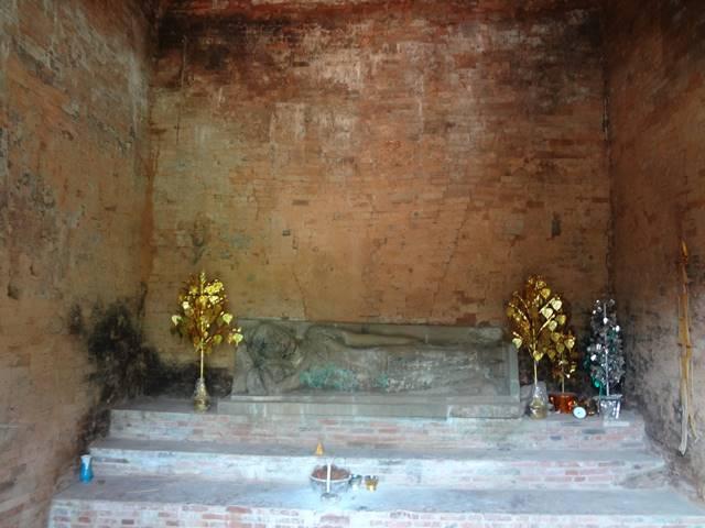 バクセイ・チャムクロンの祠堂の中