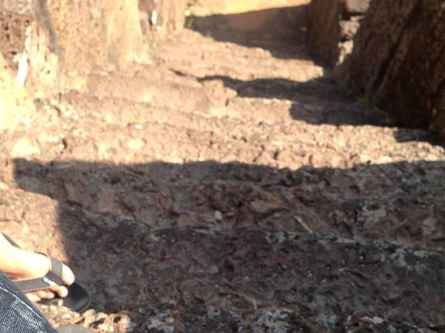 バクセイ・チャムクロンの階段
