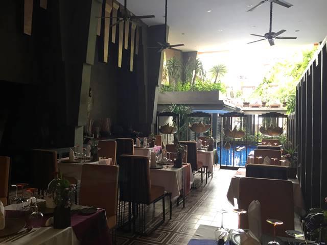 ゴールデン・テンプル・ブティックのレストラン