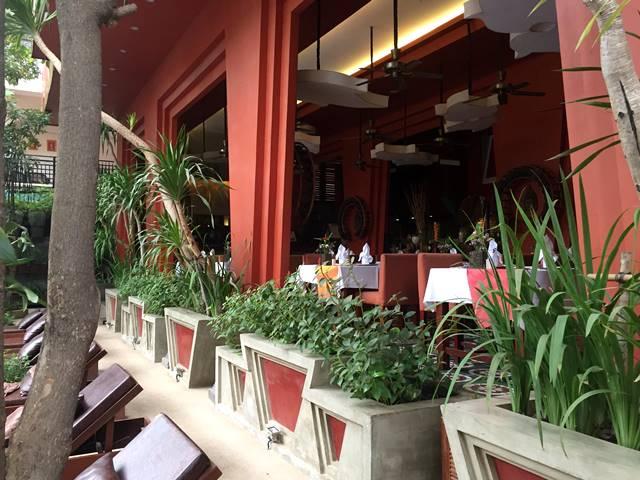 ゴールデン・テンプル・レジデンスのレストラン