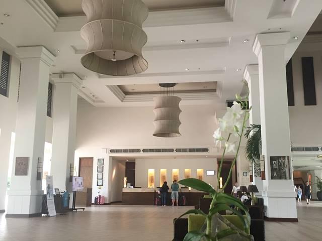 ル・メリディアン・アンコール・ホテルのロビー