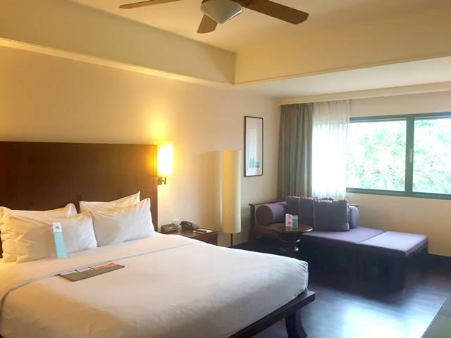 ル・メリディアン・アンコール・ホテルの部屋