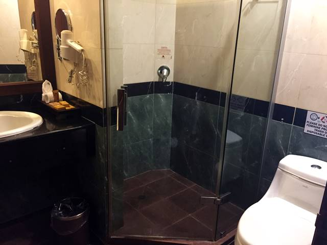 プリンス・ダンコール・ホテルのバスルーム