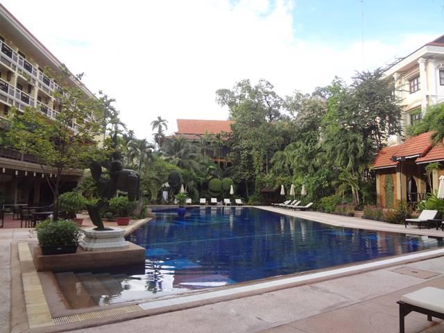 プリンス・ダンコール・ホテルのプール