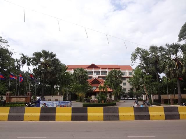 「ソカ・アンコール・リゾート」の立地