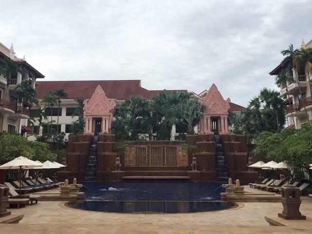 ソカ・アンコール・リゾート・ホテルのプール
