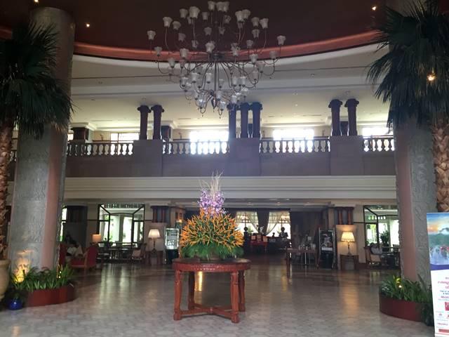 ソカ・アンコール・リゾート・ホテルのロビーラウンジ
