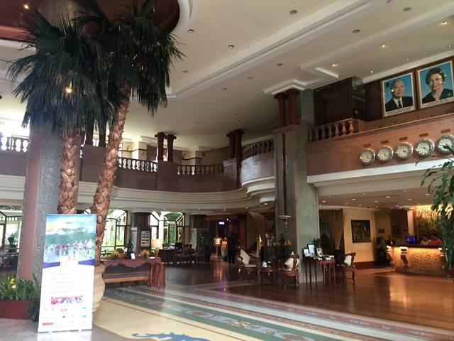 ソカ・アンコール・リゾート・ホテルのロビー