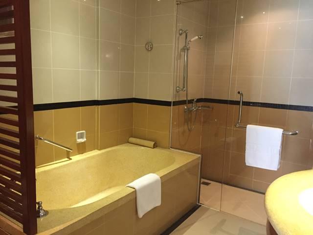 ソカ・アンコール・リゾート・ホテルのバスルーム