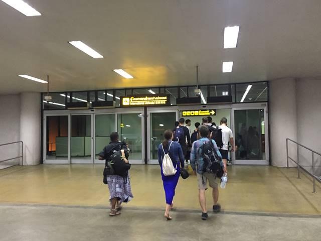 ドンムアン空港での乗り継ぎ2