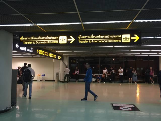 ドンムアン空港での乗り継ぎ3