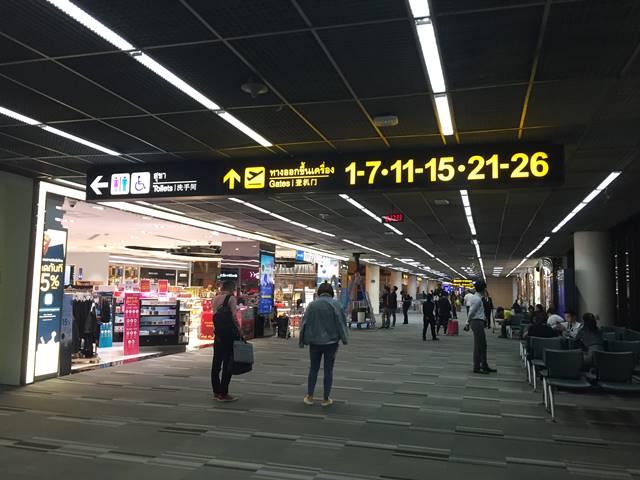 ドンムアン空港での乗り継ぎ6