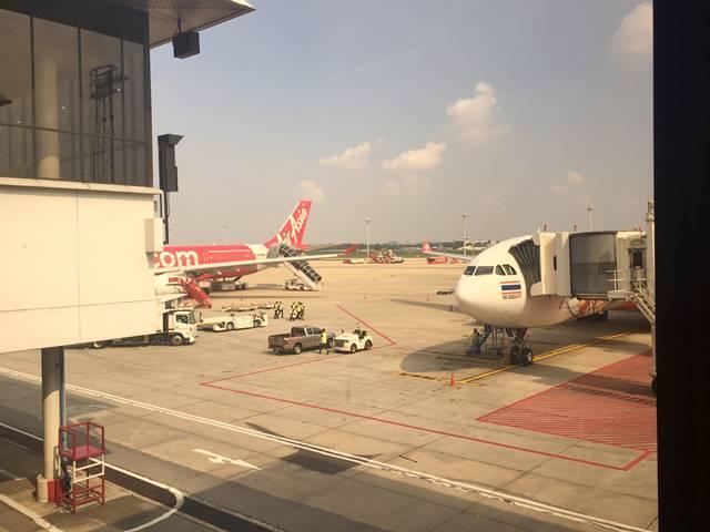 ドンムアン空港での乗り継ぎ・食事と6時間のつぶし方