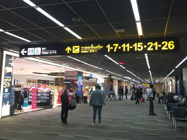ドンムアン空港での乗り継ぎ6時間のつぶし方