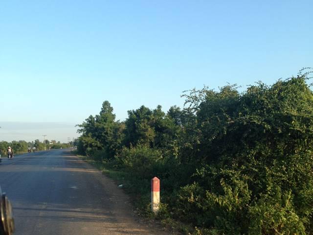 バンテアイチュマールへの道