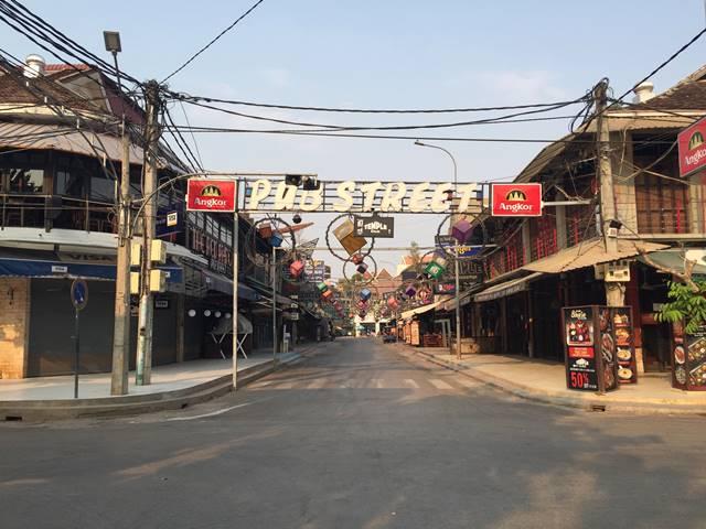 カンボジアのコロナウイルスの状況【シェムリアップから観光客が消えるまで】