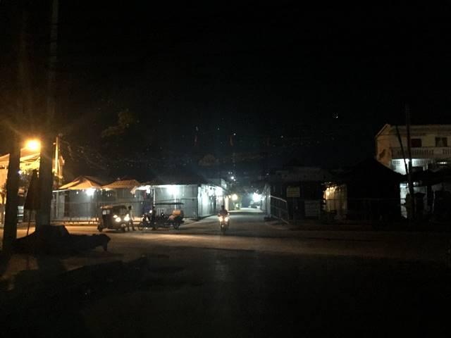 コロナの影響で閉店しているアンコールナイトマーケット