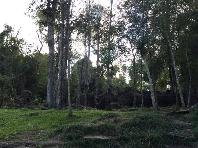 プノンクーレンの遺跡