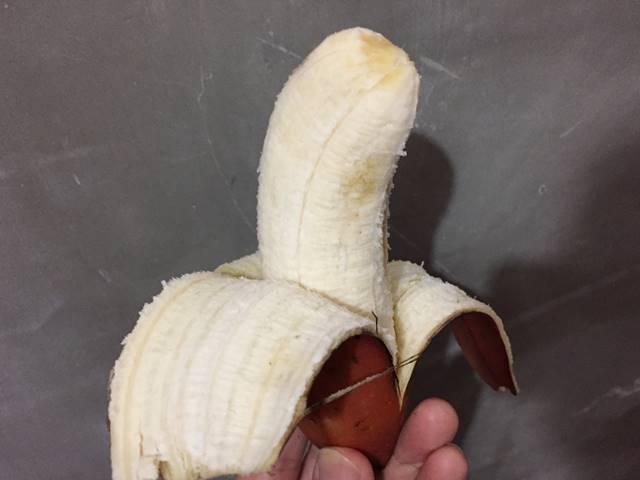 赤バナナの味
