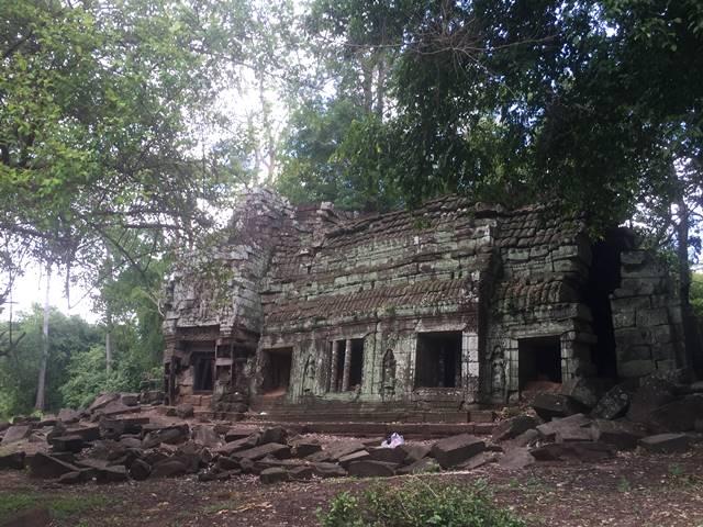 「大プリアカン」中央寺院内の建物