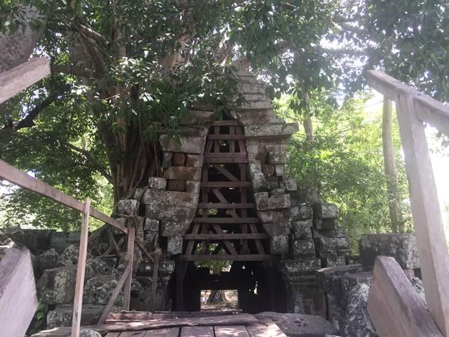 「大プリアカン」の第二東塔門