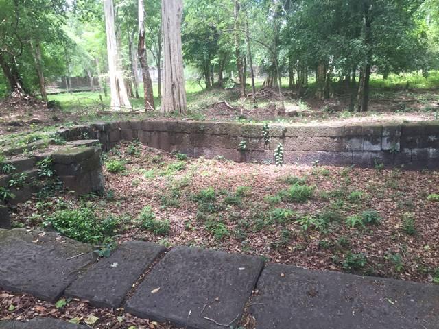 「大プリアカン」中央寺院の聖池の跡