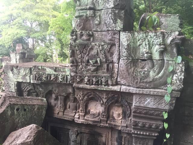 「大プリアカン」中央寺院・写真2